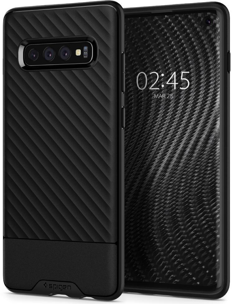 Чехол для сотового телефона SGP Core Armor для Galaxy S10, черный аксессуар чехол philips s307 armor black
