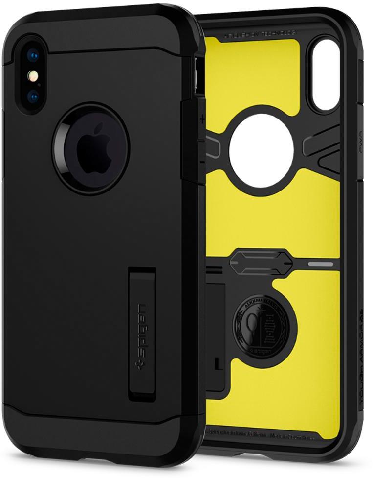 Чехол для сотового телефона SGP Tough Armor XP для iPhone XS/X, черный все цены