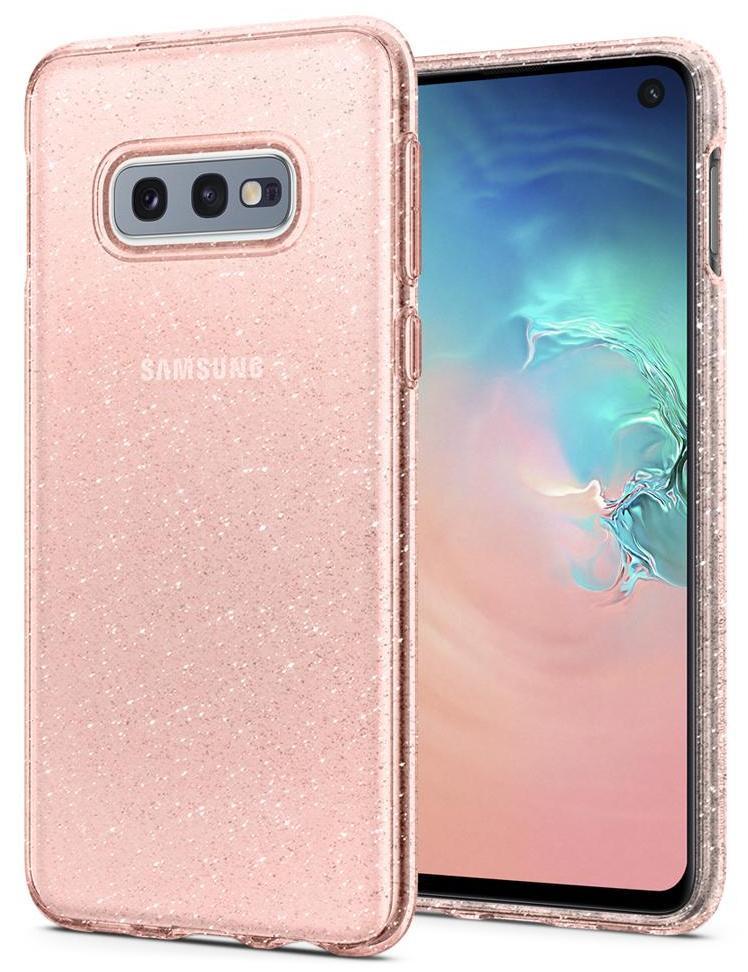 Чехол для сотового телефона SGP Liquid Crystal Glitter для Galaxy S10e, розовый sva liquid crystal lt3232 main board 5800 a8m61a m010 screen lc320wxn