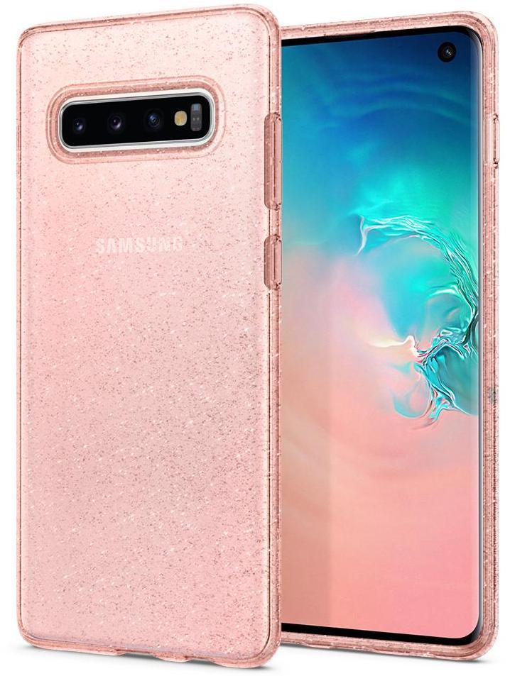 Чехол для сотового телефона SGP Liquid Crystal Glitter для Galaxy S10, розовый sva liquid crystal lt3232 main board 5800 a8m61a m010 screen lc320wxn