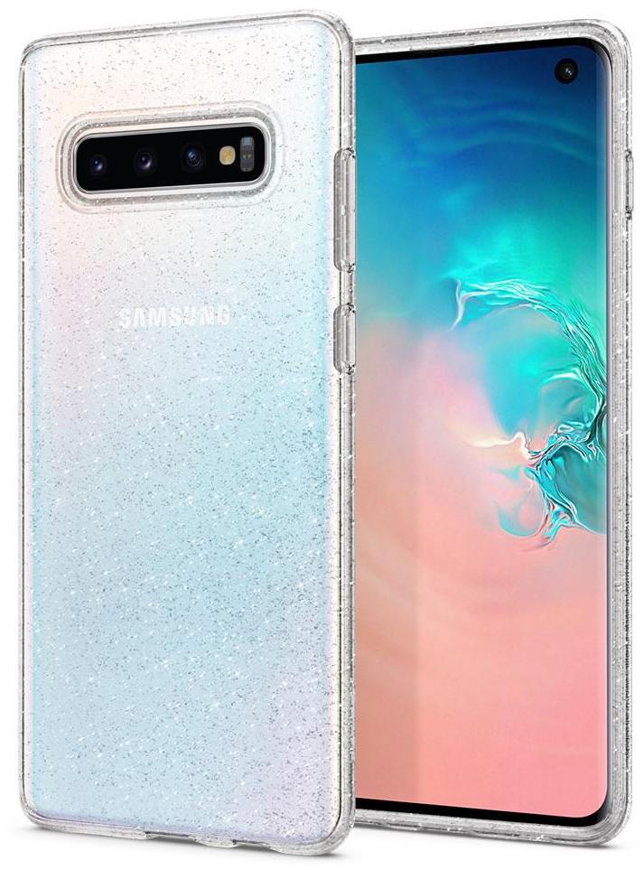 Чехол для сотового телефона SGP Liquid Crystal Glitter для Galaxy S10, прозрачный nail art tips crystal glitter rhinestone decoration