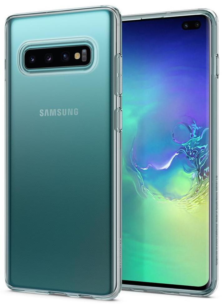 Чехол для сотового телефона SGP Liquid Crystal для Galaxy S10+, прозрачный sva liquid crystal lt3232 main board 5800 a8m61a m010 screen lc320wxn