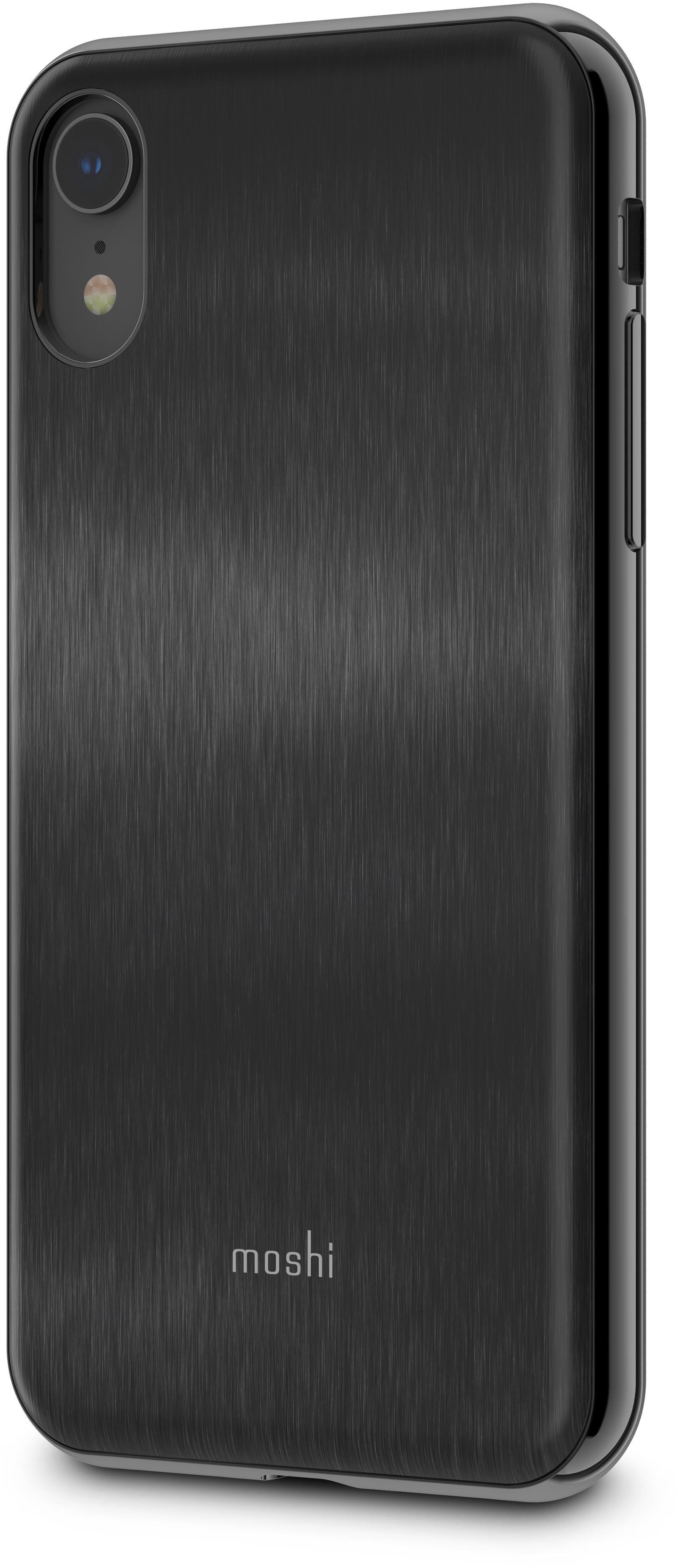 Чехол для сотового телефона Moshi iGlaze для iPhone XR, черный накладка moshi iglaze для iphone xs max чёрный 99mo113002
