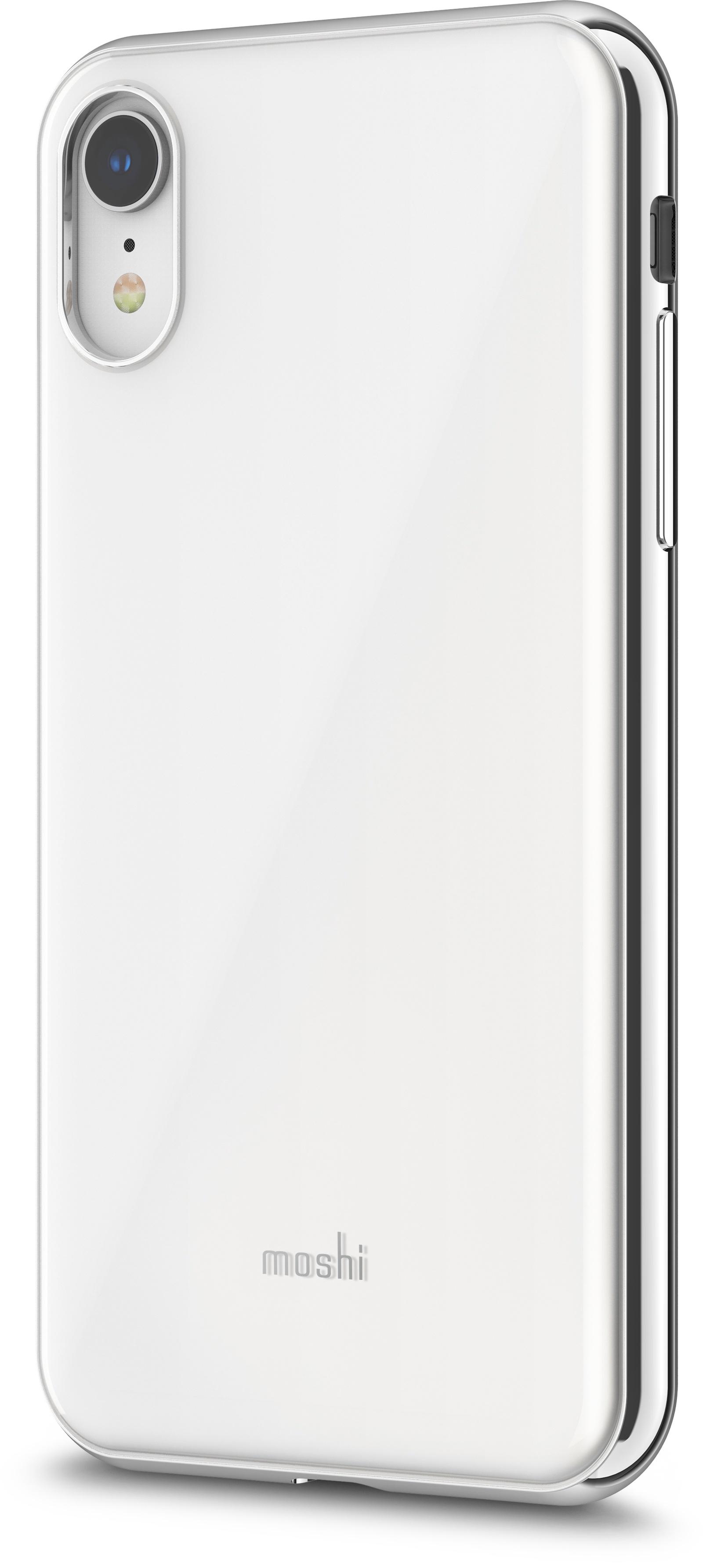 Чехол для сотового телефона Moshi iGlaze для iPhone XR, белый накладка moshi iglaze для iphone xs max чёрный 99mo113002