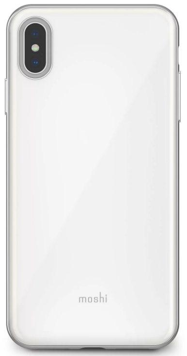 Чехол для сотового телефона Moshi iGlaze для iPhone XS Max, белый накладка moshi iglaze для iphone xs max чёрный 99mo113002