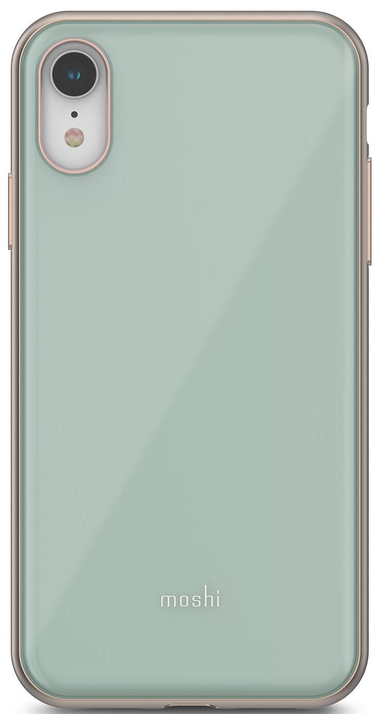 Чехол для сотового телефона Moshi iGlaze для iPhone XR, синий клип кейс moshi iglaze для apple iphone xr красный