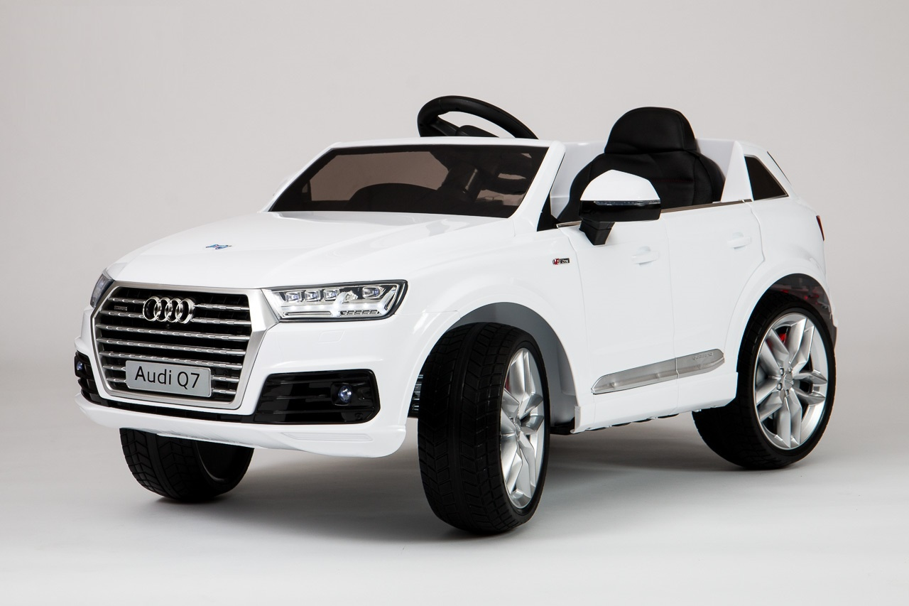 Электромобиль Barty Audi Q7, белый