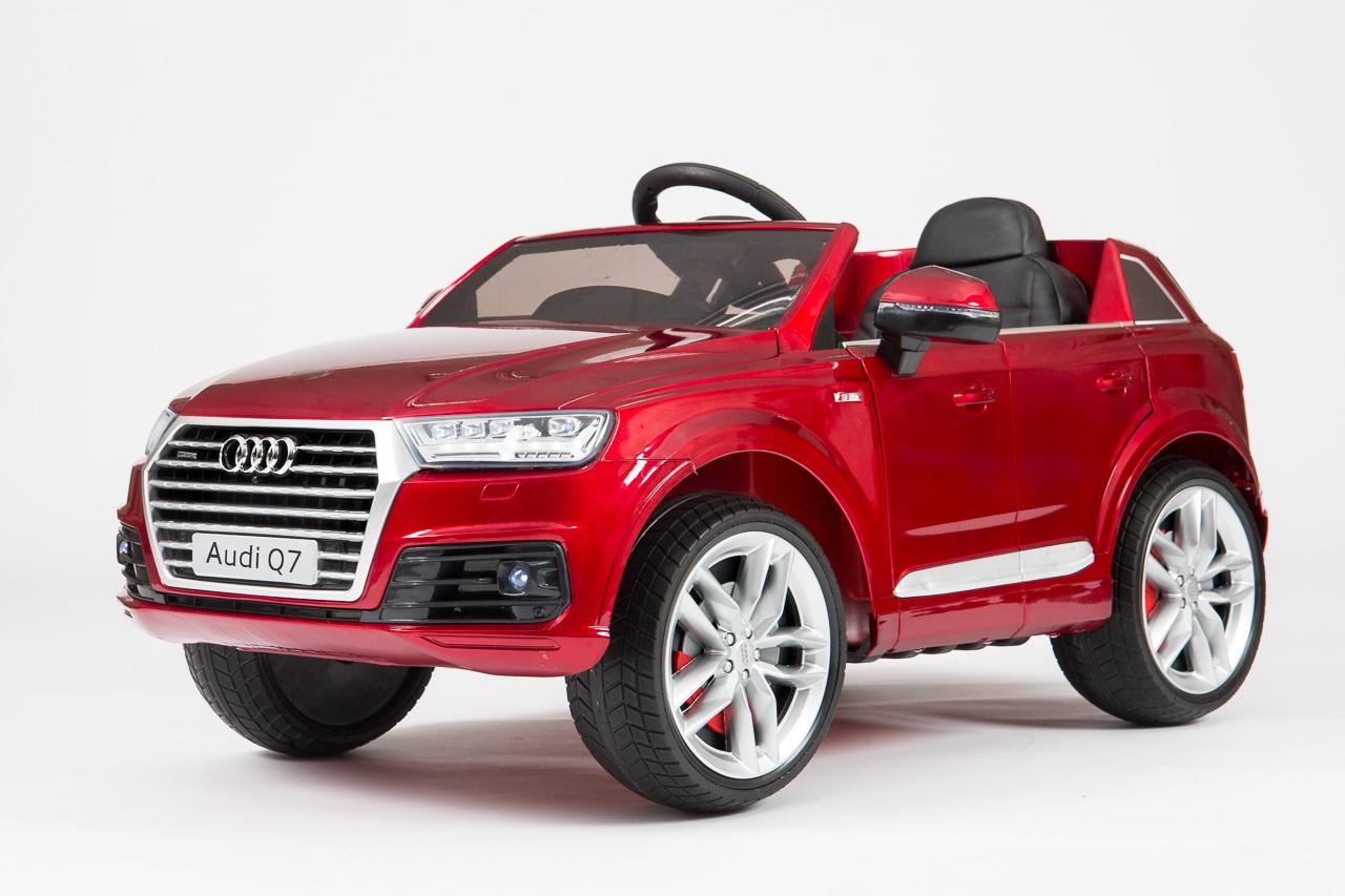 Электромобиль Barty Audi Q7, красный