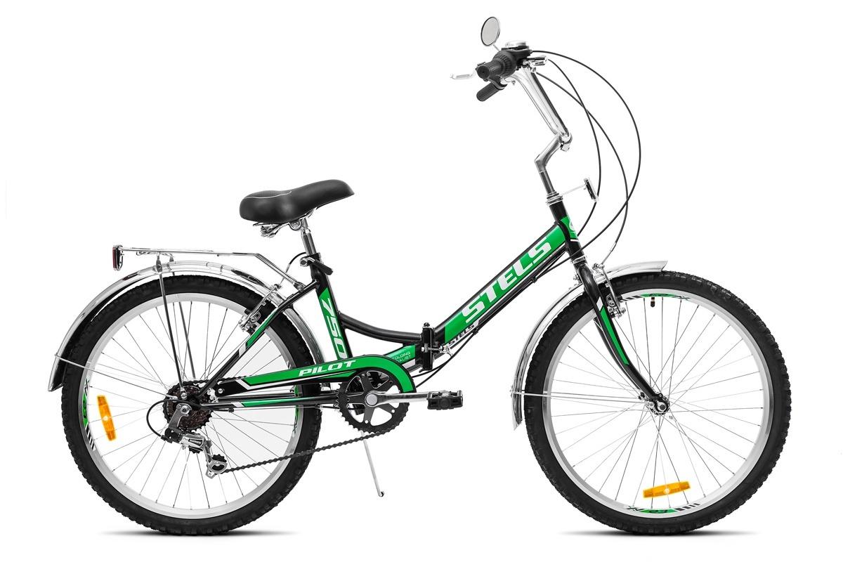 Фото - Велосипед Stels Pilot-750, зеленый stels pilot 750 24 16