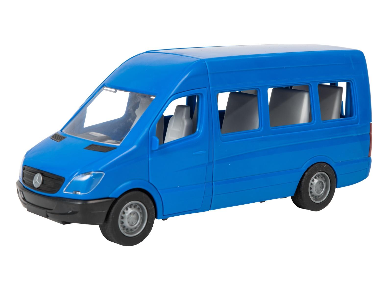 Машинка-игрушка Tigres Mercedes-Benz Sprinter пассажирский синий