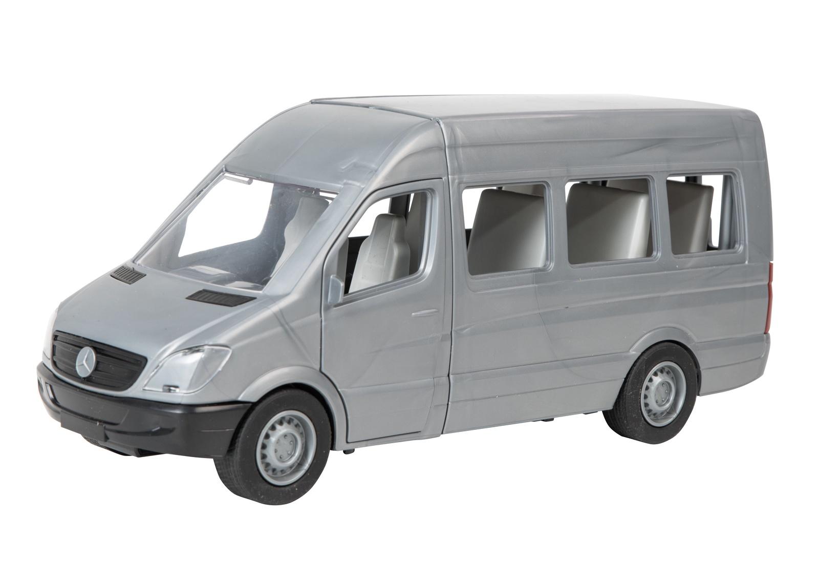 Машинка-игрушка Tigres Mercedes-Benz Sprinter пассажирский серый