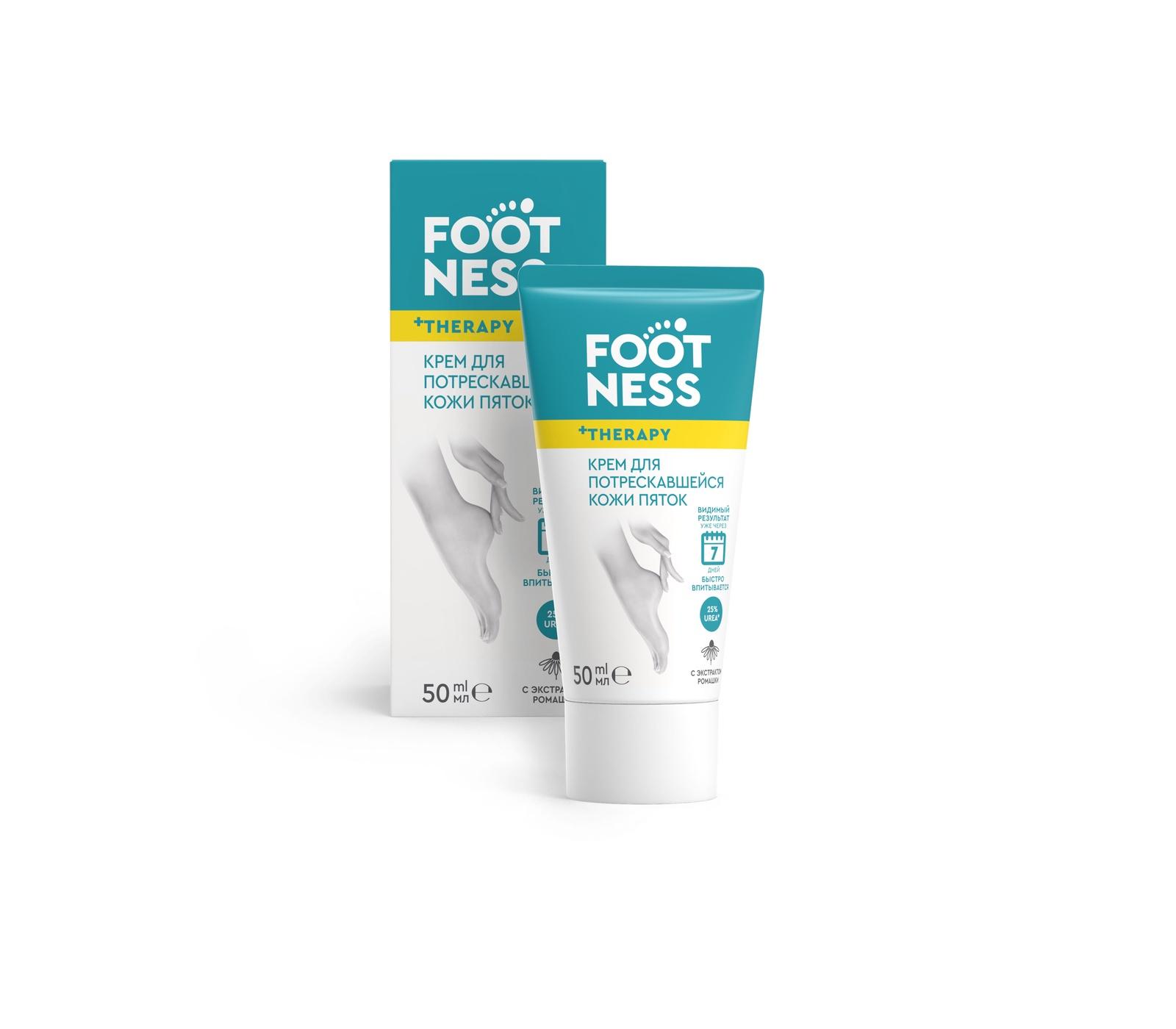 Крем для потрескавшейся кожи пяток FOOTNESS Cracked Heel cream цена 2017