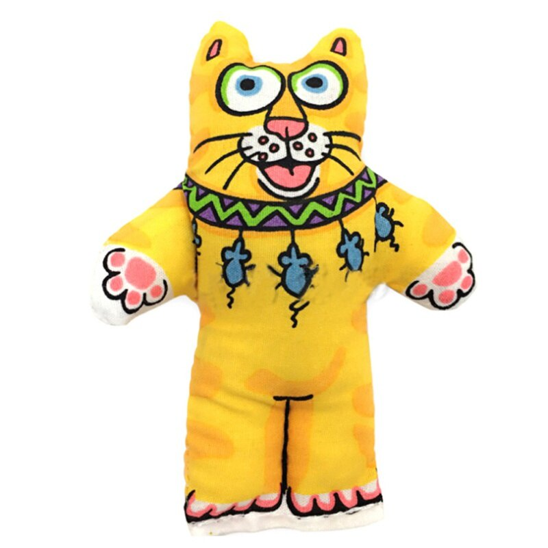 Игрушка для животных TopSeller Мягкая игрушка для собак (кот)