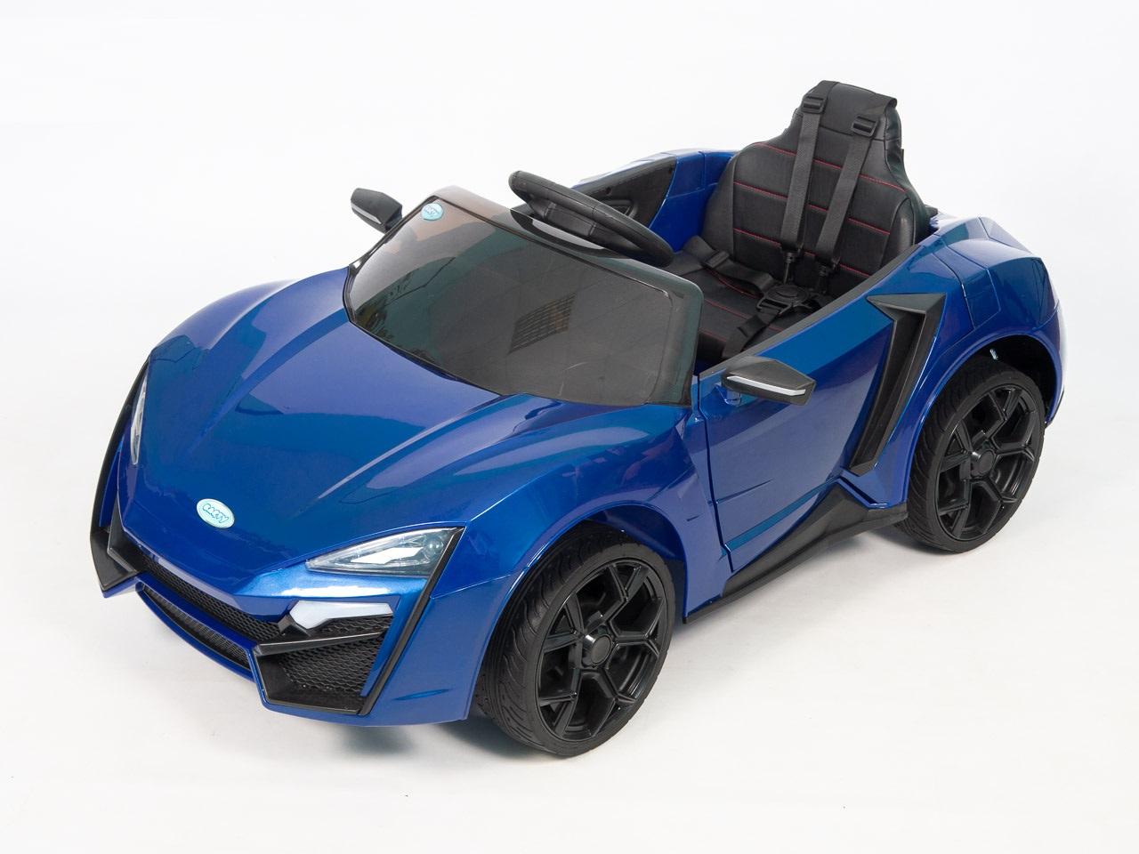 Электромобиль Barty Lykan Б777ОС, синий