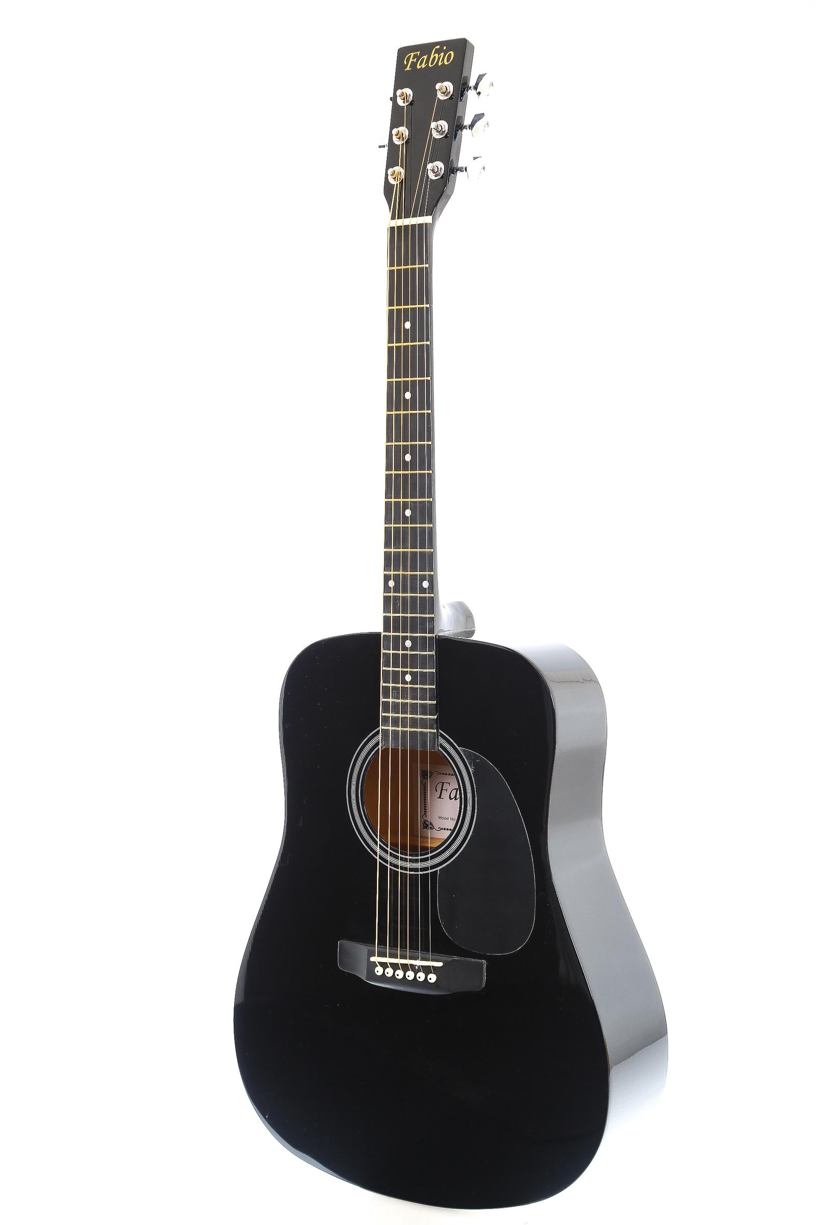 Fabio SA105, Black акустическая гитара цена