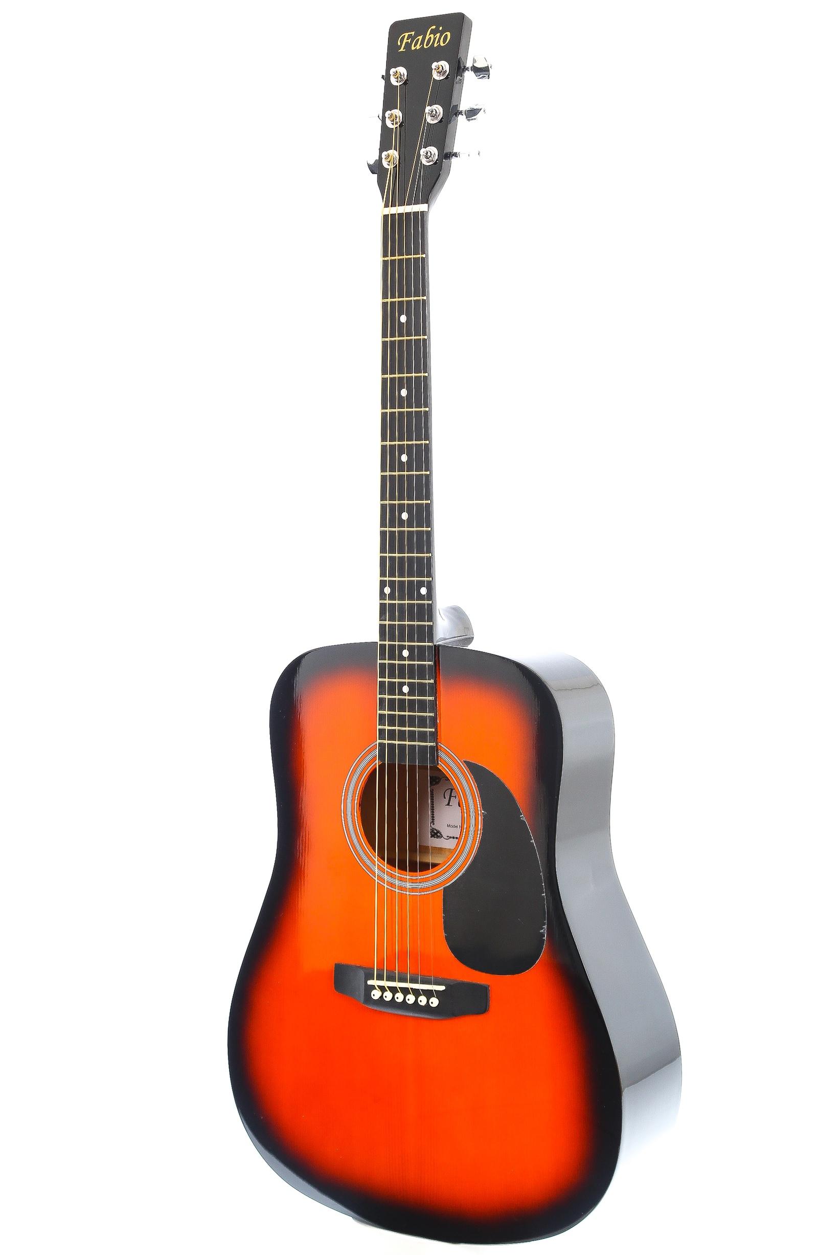 Fabio SA105, Yellow акустическая гитара veston c 45a bk акустическая гитара