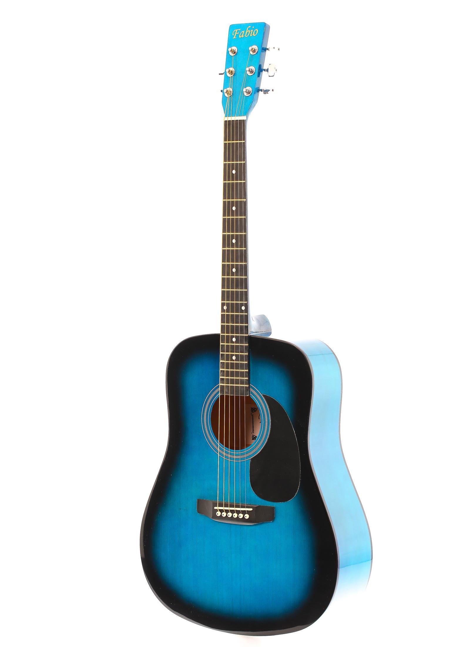 Fabio SA105, Blue акустическая гитара цена
