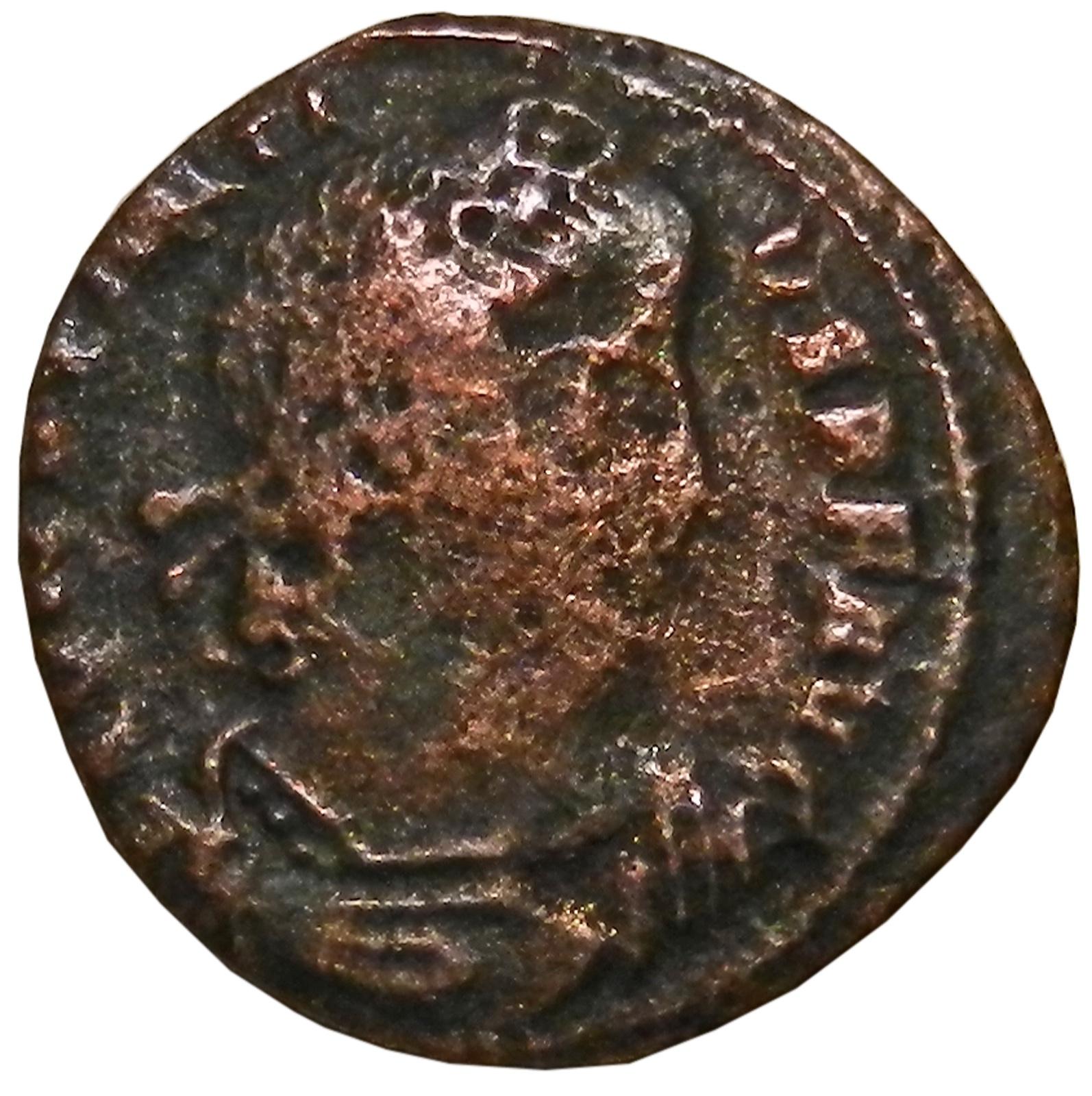 цены Монета AE4. Констанций II. Бронза. Древний Рим, 337- 361 гг. (две Виктории)