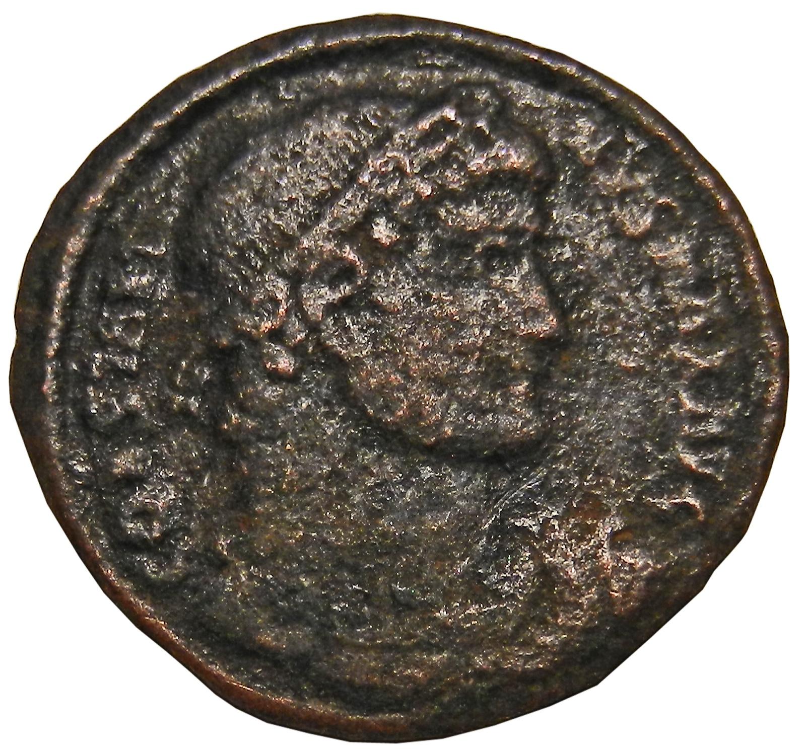 Монета фоллис. Константин I Великий. Бронза. Древний Рим, 306-337 гг (Ворота) ворота роллеты цена