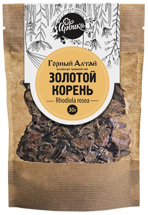 Чай травяной алтайский Арвика Традиции Алтая Золотой корень, 30 г травяной сбор лапчатка белая корень сила природы 25 г