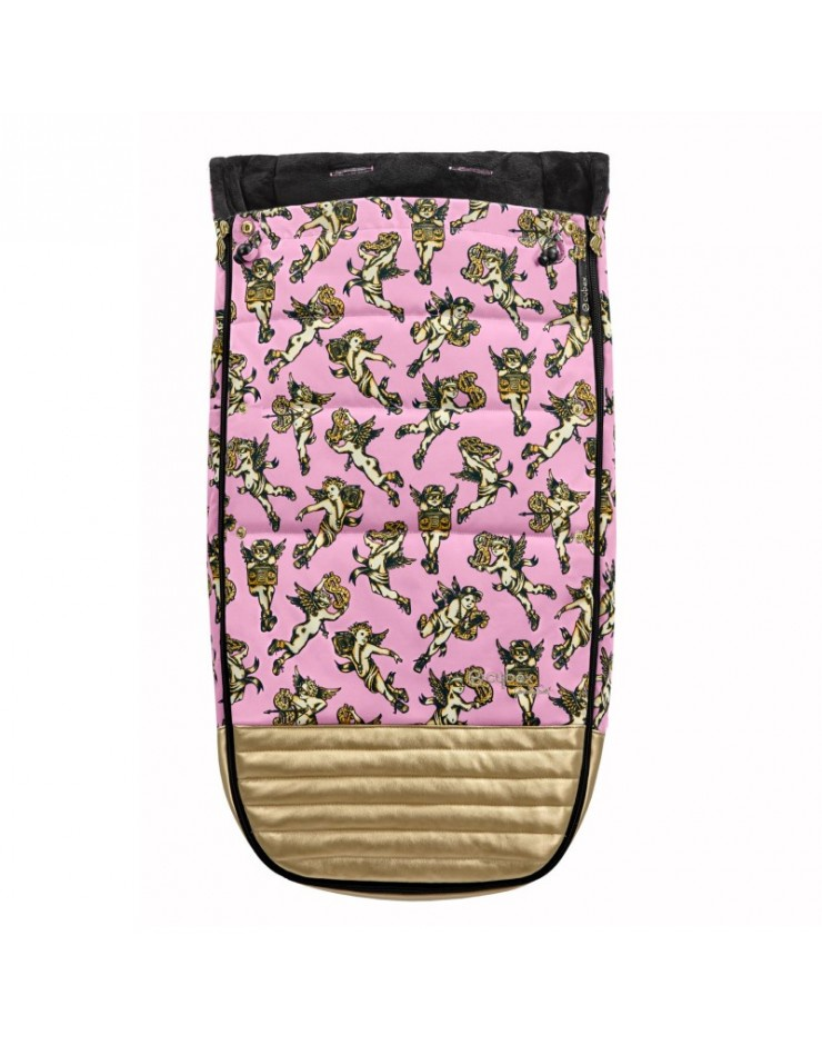 Cybex конверт для коляски Priam (Cherubs Pink by Jeremy Scott) cybex конверт для коляски priam cherubs pink by jeremy scott