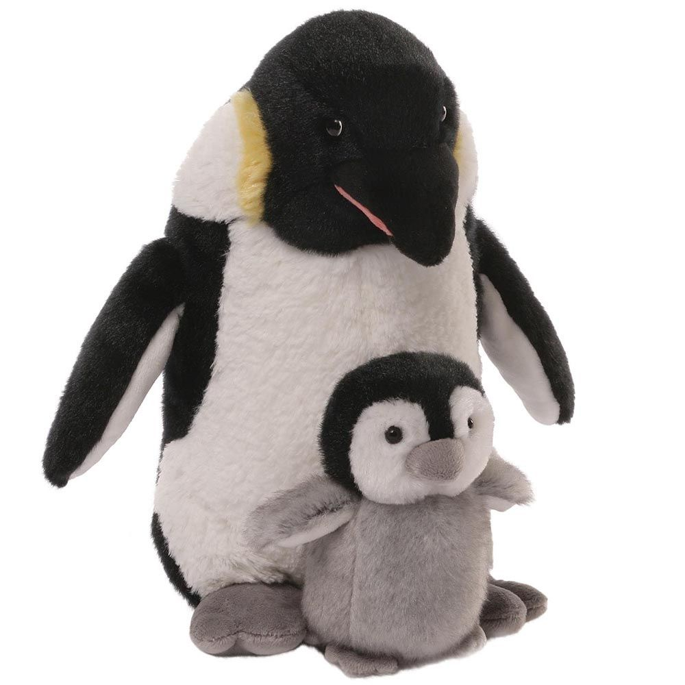 Мягкая игрушка Gund Mummy & Me Penguin коричневый mummy and me