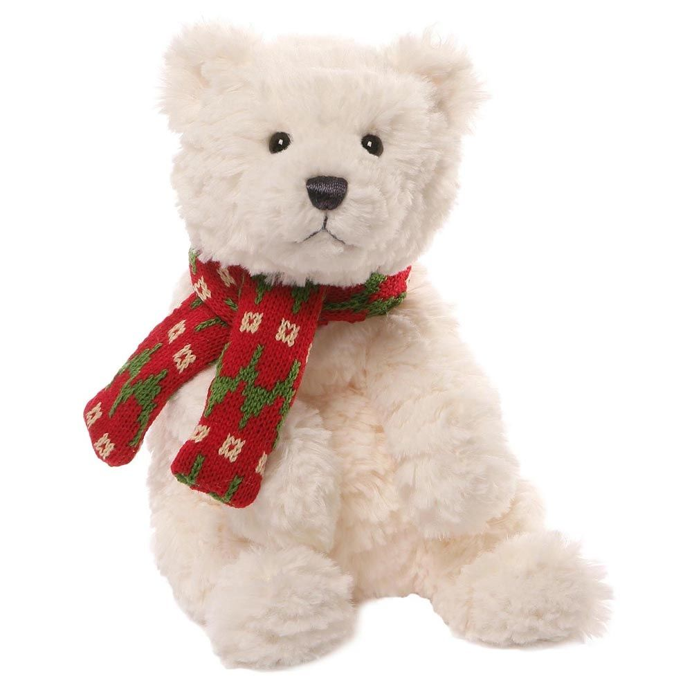 Игрушка мягкая (Bluster Polar Bear Small, 30,5 см). Gund недорого