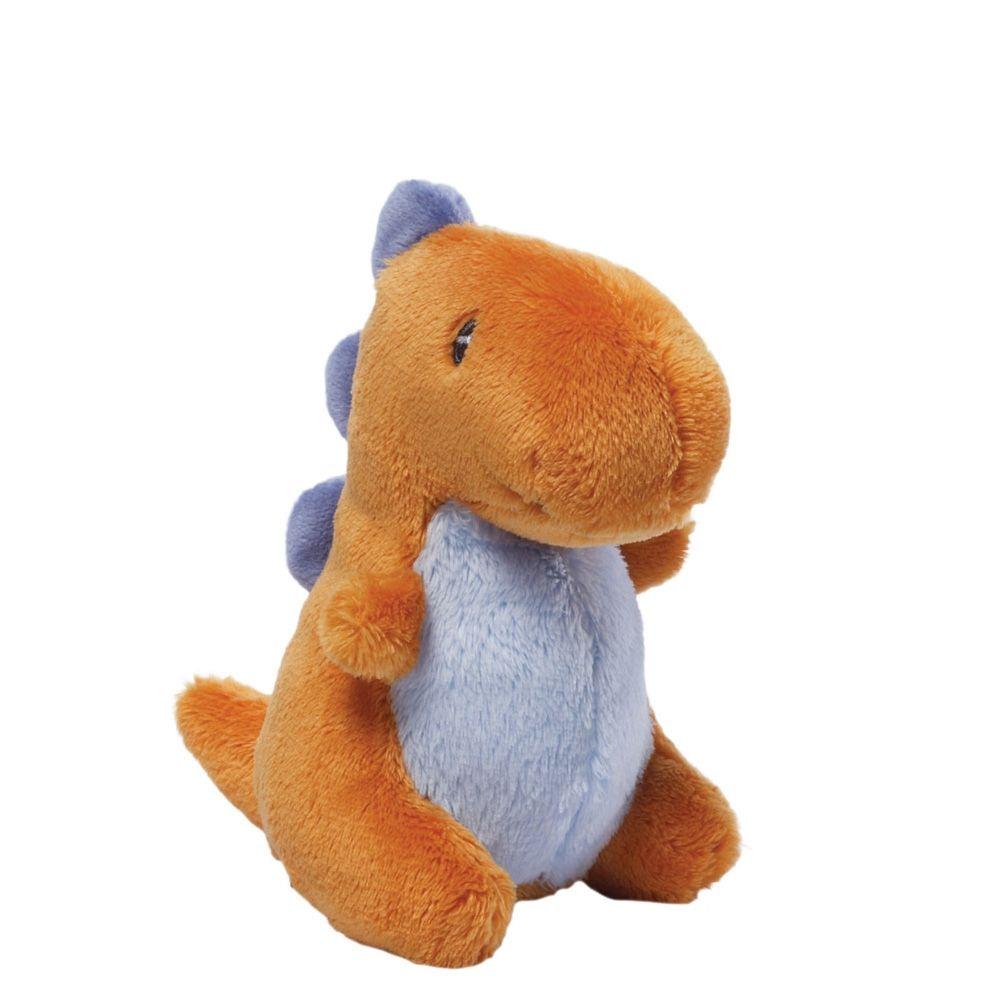 Мягкая игрушка Gund Dino Rattles коричневый стоимость