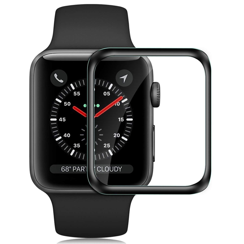 Защитное стекло 5D Glass Apple Watch 4 40 mm, черный