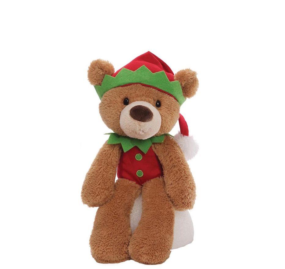 Игрушка мягкая (Fuzzy Elf, бежевый, 34,5 см). Gund недорого