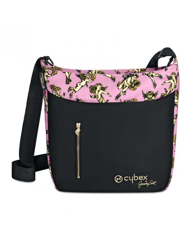 Cybex сумка для коляски Priam (Cherubs Pink by Jeremy Scott) cybex конверт для коляски priam cherubs pink by jeremy scott