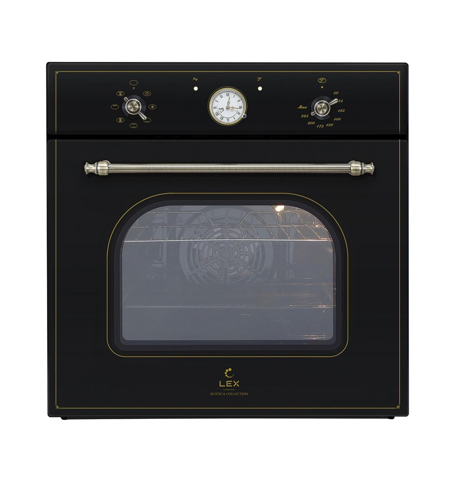 Встраиваемый духовой шкаф LEX EDM 070C BL цена