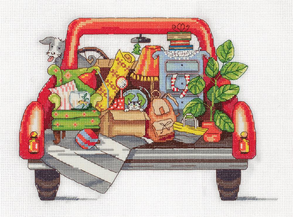Набор для вышивания крестом Panna Новоселье, M-7113, 27 х 20 см