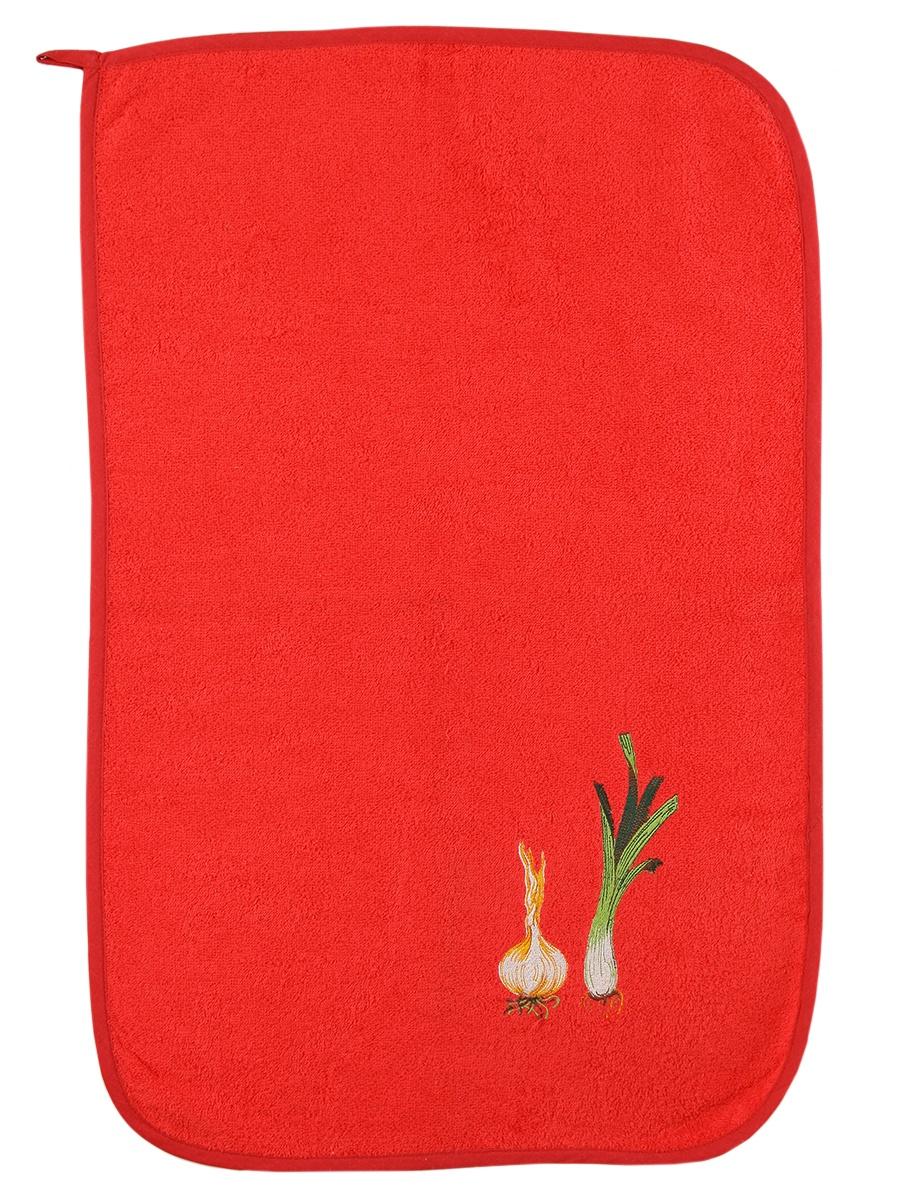 Полотенце кухонное Pastel Лук, красный недорго, оригинальная цена