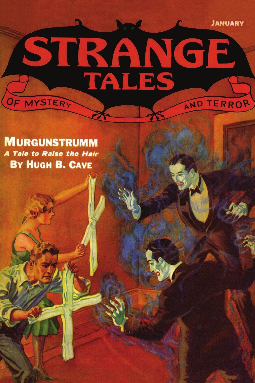 John Gregory Betancourt Pulp Classics. Strange Tales #7 (January 1933) strange tales 9