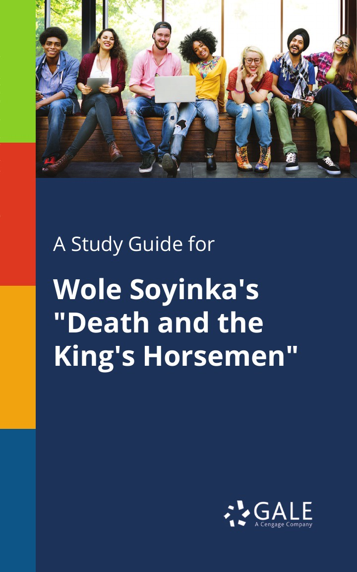 Cengage Learning Gale A Study Guide for Wole Soyinka's