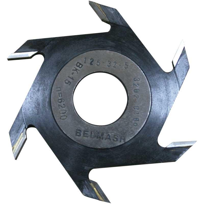 Фреза пазовая (дисковая) BELMASH 125 32 5 мм