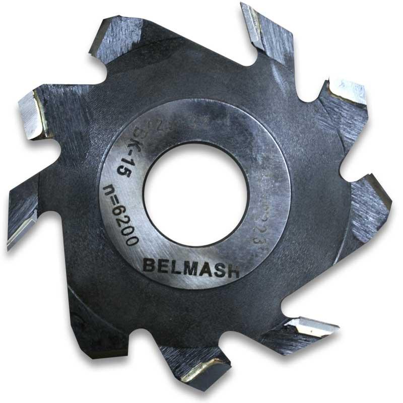 Фреза пазовая (дисковая) BELMASH 125 32 4 мм с подрезающими зубьями
