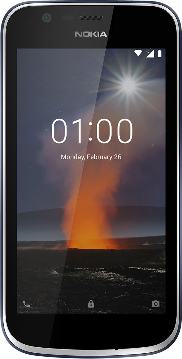 Смартфон Nokia 1 1/8GB, синий цена и фото