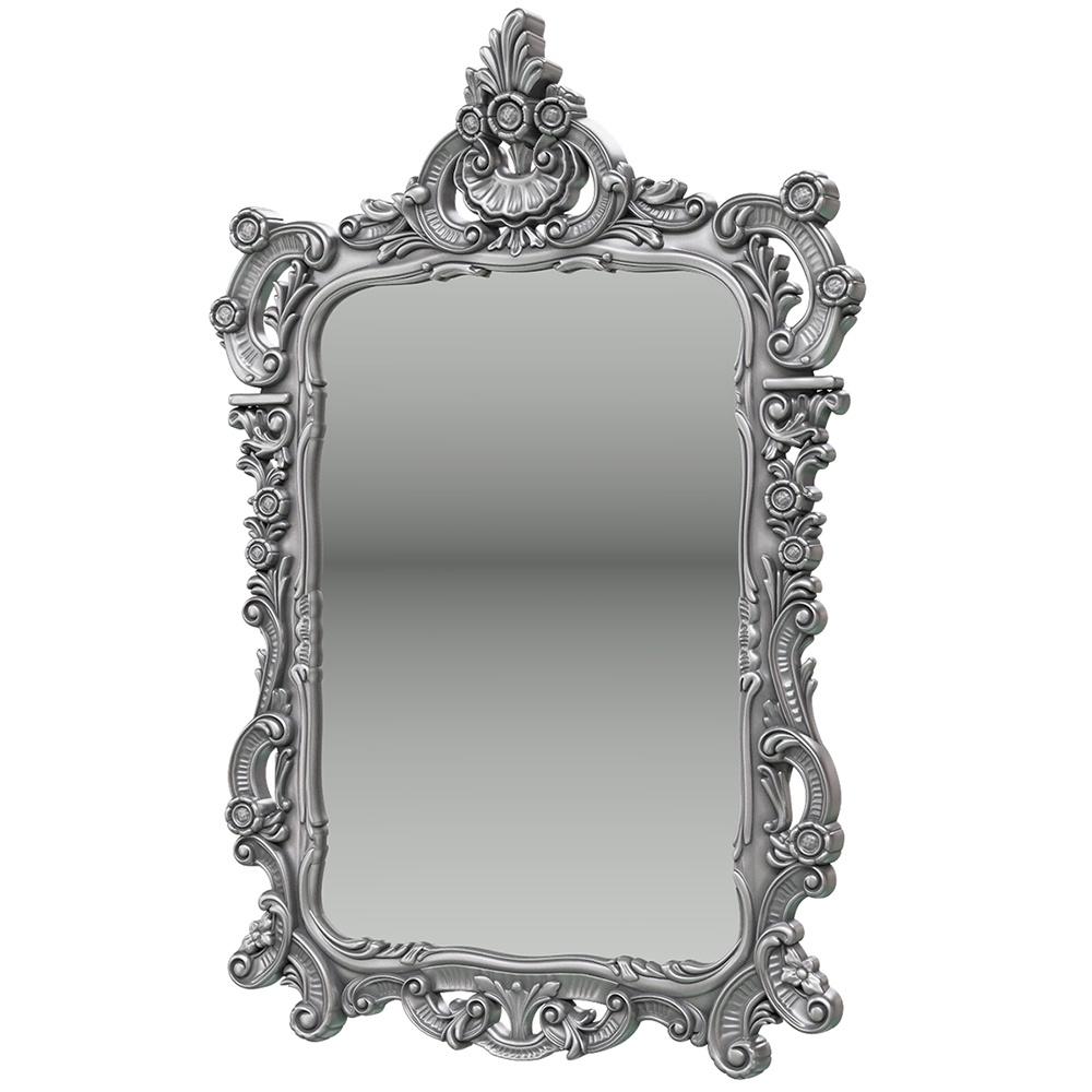 Зеркало ЗК-01, цвет серебро, ШхГхВ 70х8х106 см. object desire репродукция музейный экспонат версия 36 в картинной раме офелия