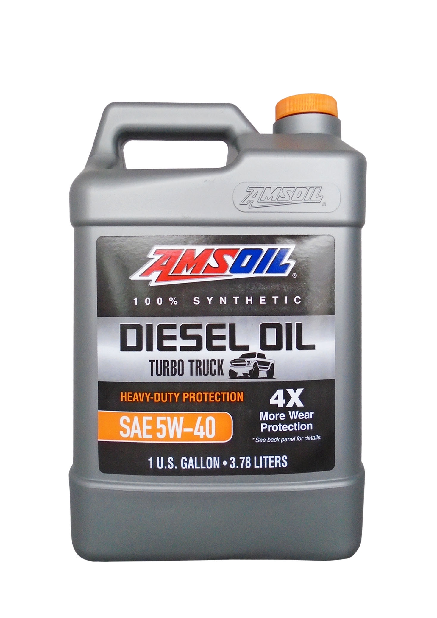 Моторное масло AMSOIL Heavy-Duty Synthetic Diesel Oil SAE 5W-40 (3.78л)