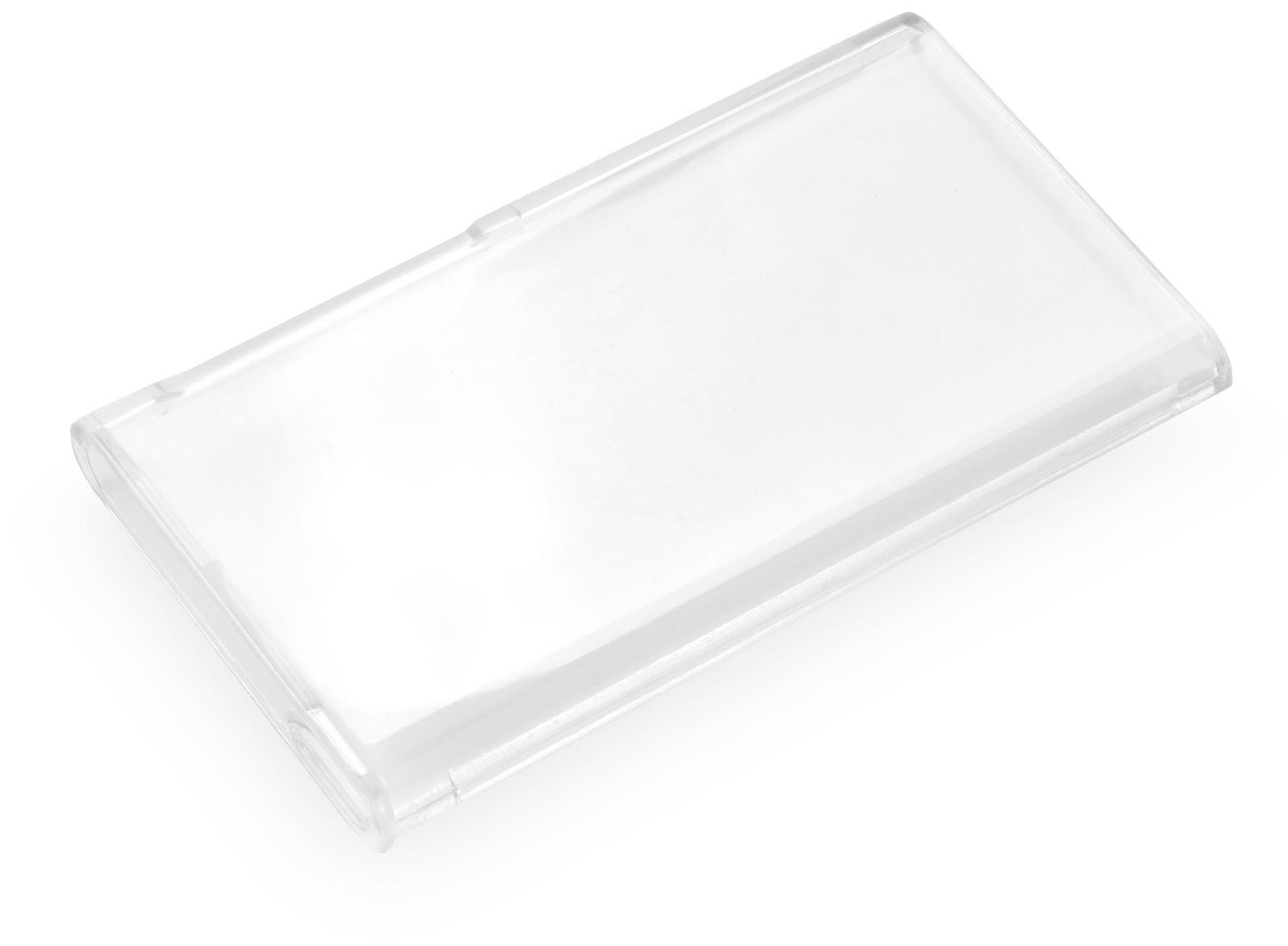 Чехол iNeez накладка пластик двусторонний для Apple iPod Nano 7,190058,прозрачный iNeez