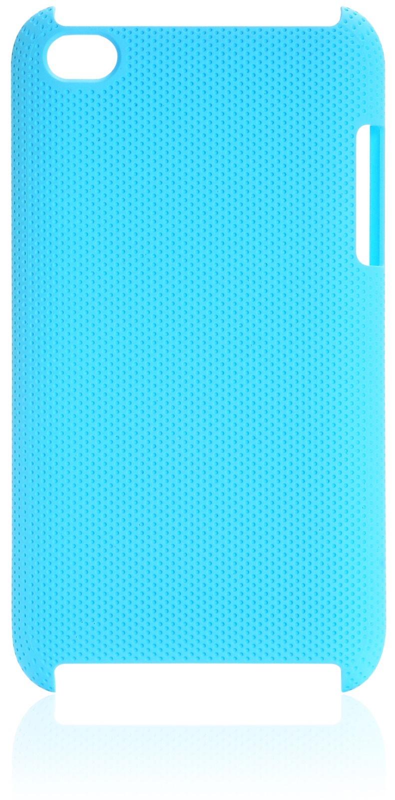 Чехол iNeez накладка с перфорацией blue для Apple iPod Touch 4,180122,голубой книги для mp3 плеера скачать