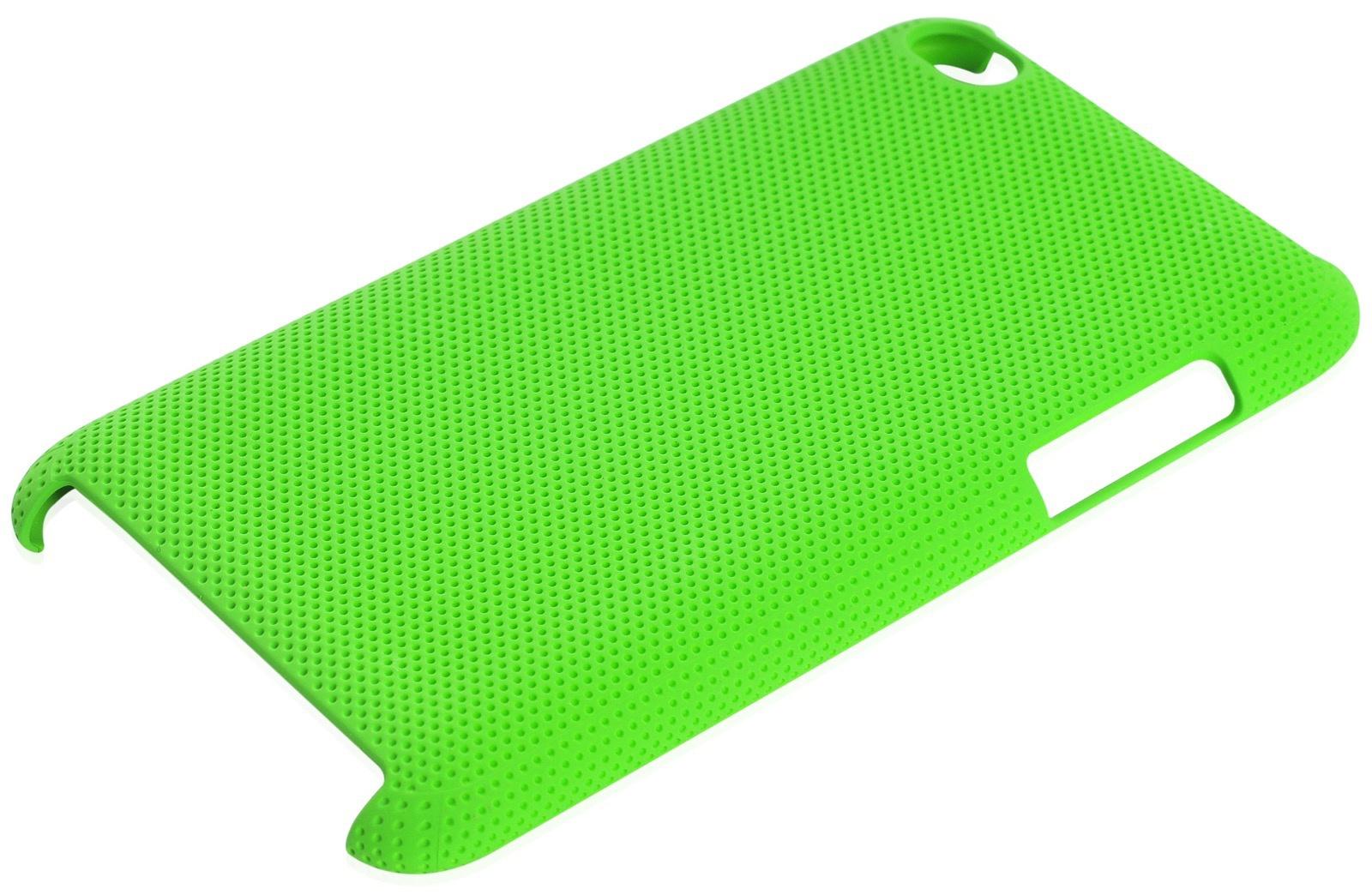 Чехол iNeez накладка с перфорацией green для Apple iPod Touch 4,180110,зеленый книги для mp3 плеера скачать