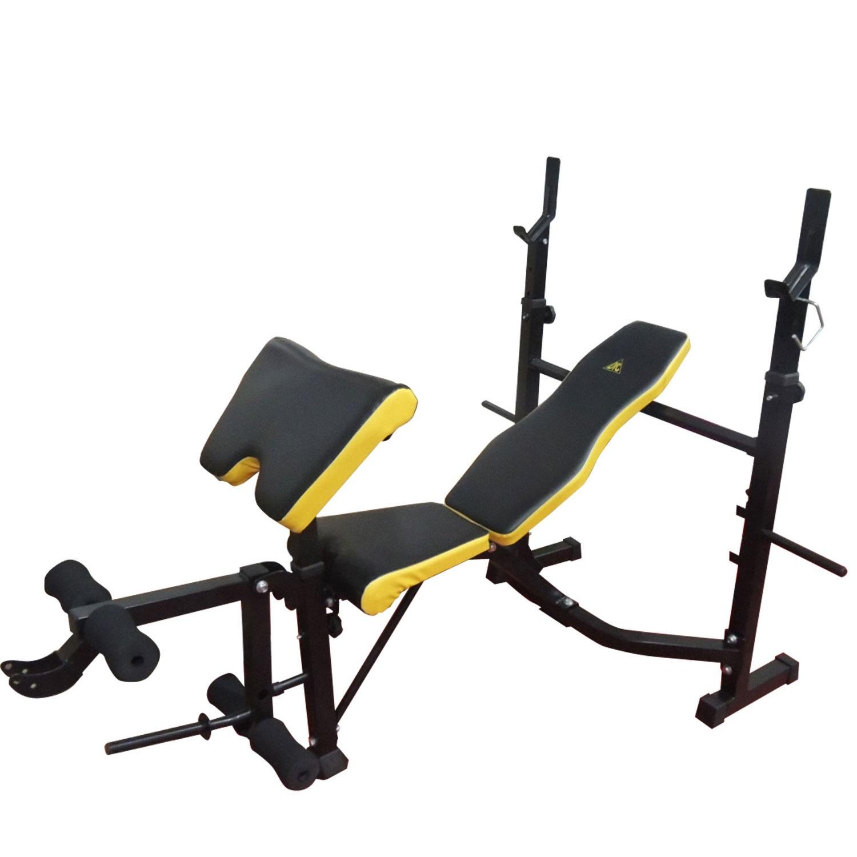 Силовая скамья со стойками DFC D7828 многофункциональная скамья со стойками muscle weight bench rho