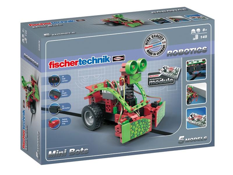 Конструктор fischertechnik Мини-боты мини флеш карты