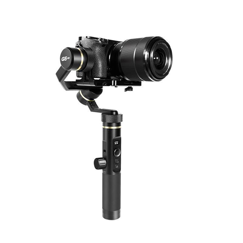 Трёхосевой стабилизатор для камеры, смартфона, экшн камеры FeiyuTech G6 Plus стабилизатор feiyu tech стабилизатор feiyu tech vimble 2 3 х осевой с раздвижной ручкой для смартфонов black