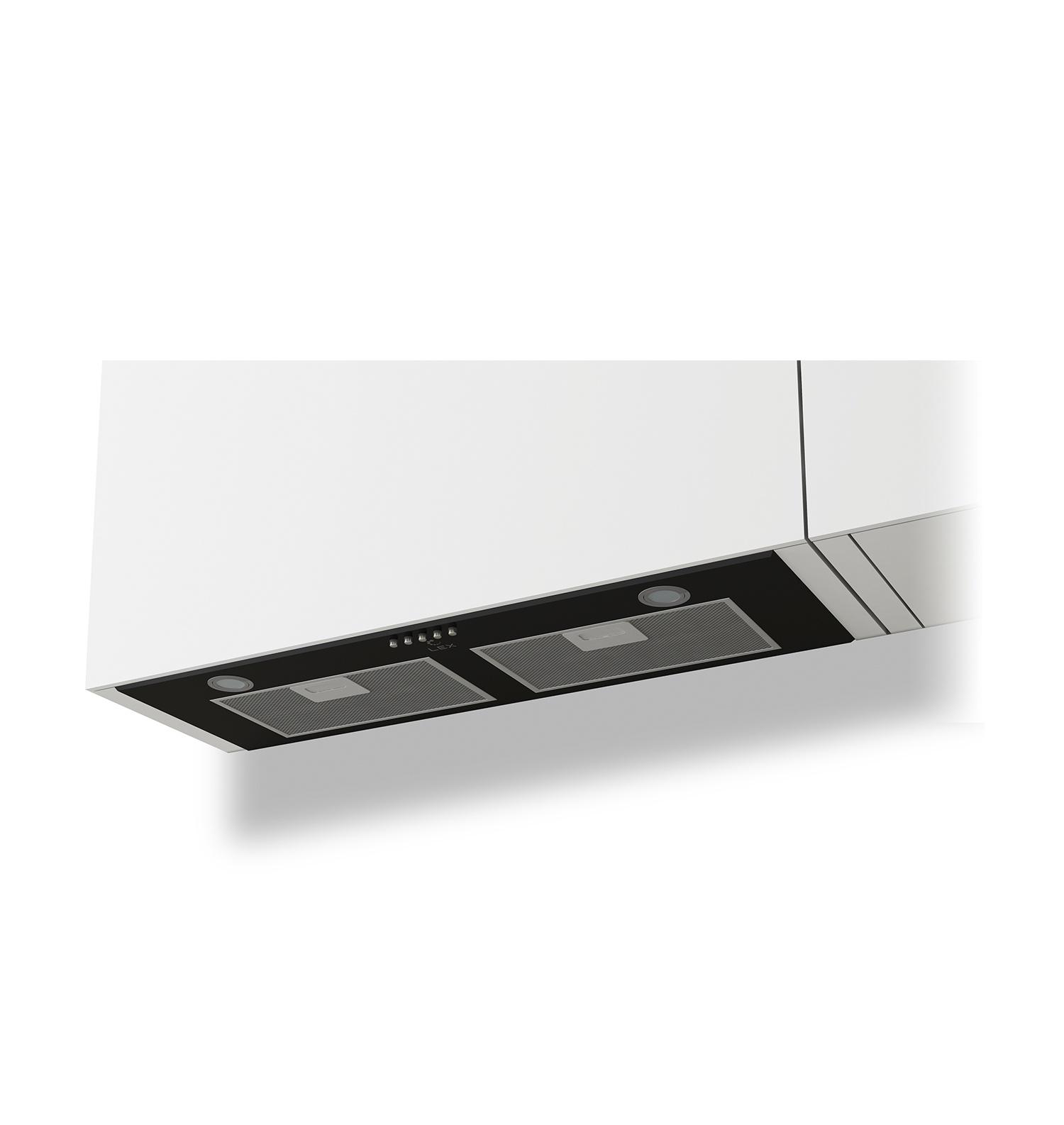 Встраиваемая кухонная вытяжка LEX GS BLOC P 900 Black цена и фото