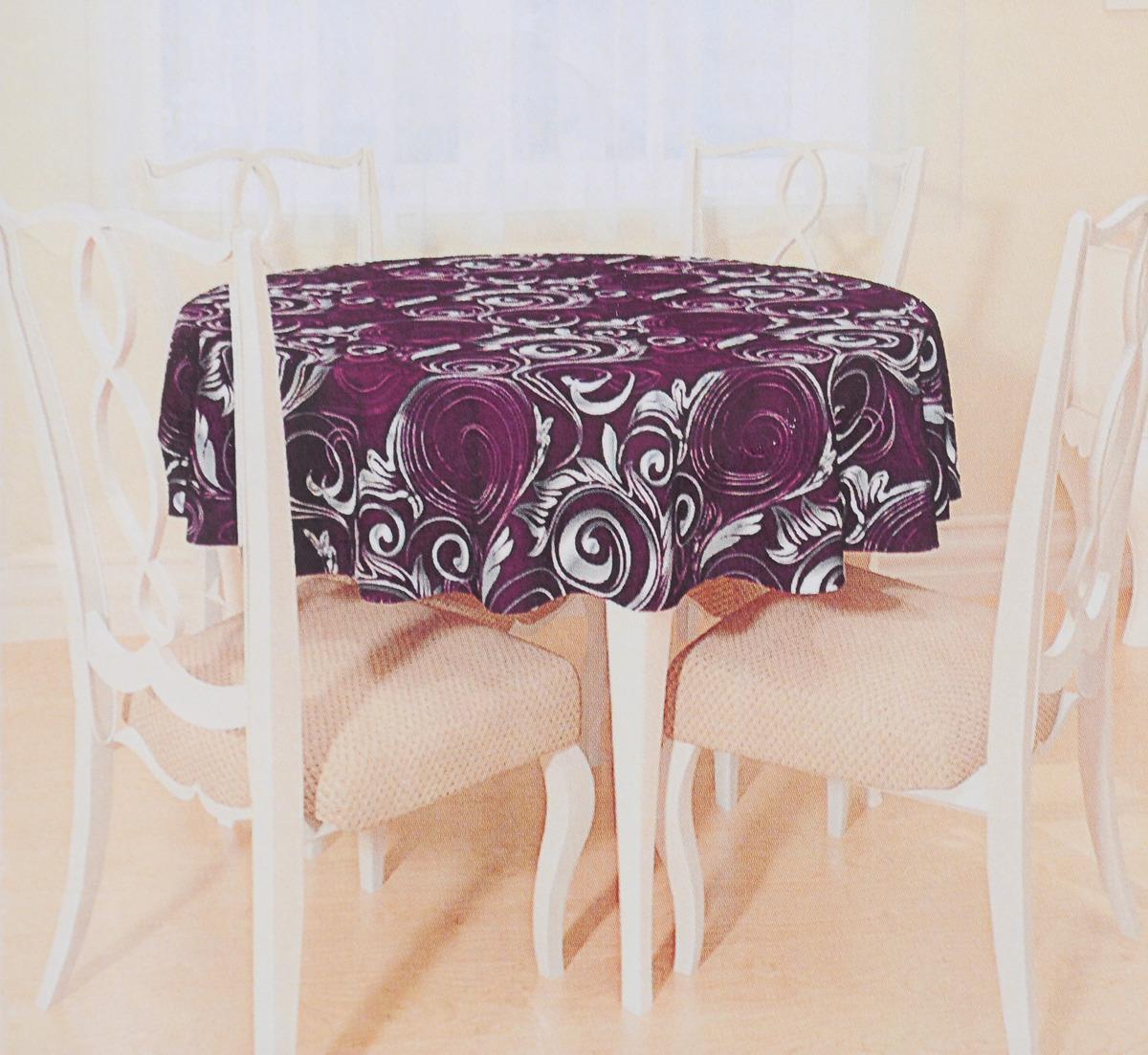 фиолетовая скатерть обои