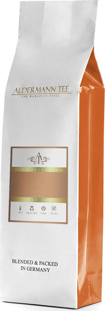 Чай листовой Aldermann Эрл Грей Блю Фловерс, черный, 250 г